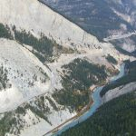 Fieldwork underway for Kicking Horse Canyon four-laning project